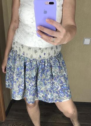 Легкая летняя пляжная юбка