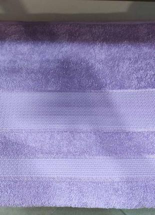 Махровая простынь узбекистан, 200х200 см цвет: сирень
