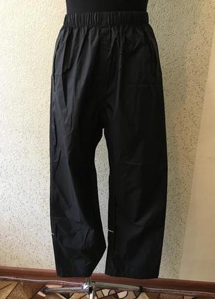 Легкие клеенчатые не промокаемые спортивные мужские штаны regatta