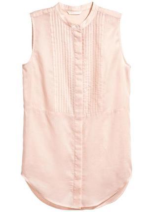 Блузка без рукавов h&m 0533349006 розового цвета