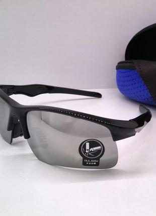 Спортивные солнцезащитные зеркальные очки велосипедные