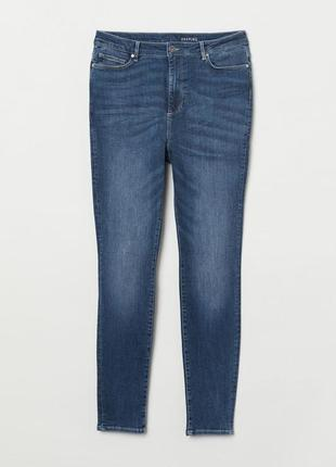 Джинсы shaping skinny high h&m 0653114005