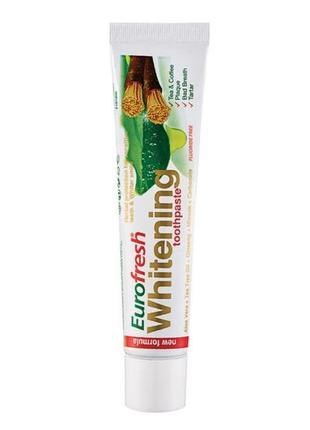 ♥️ зубна паста eurofresh  whitening, 50 г ♥️