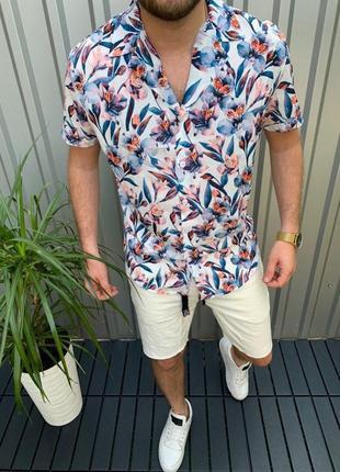 Стильная рубашка, тонкая и легкая ткань