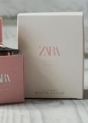 Zara orchid sunset духи, парфюм, туалетная вода