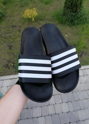 Шикарные мужские тапочки adidas