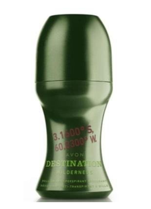 Шариковой дезодорант от avon destination wilderness  50ml