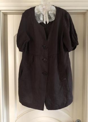 Кардиган, жакет из льна пиджак max mara