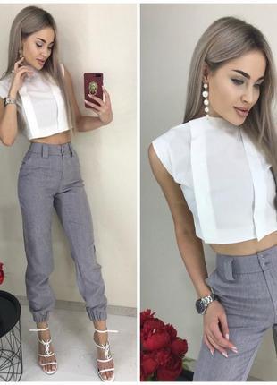 Костюм брюки и блуза