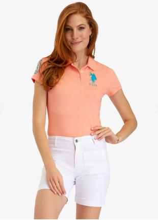 Поло uspa printed polo shirt оригинал!