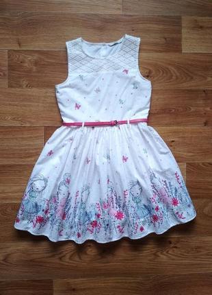 Легкое батистовое платье
