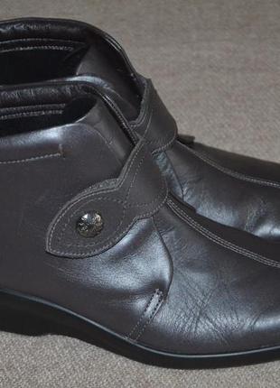 Ботинки hotter 40 eur paзм