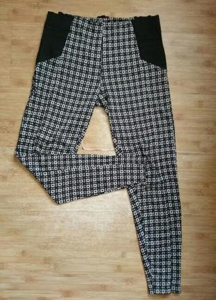 Яркие штаны-леггинсы