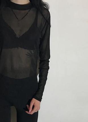 Женская кофта сетка