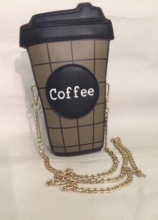"""Оригинальная сумка """"стакан кофе"""""""