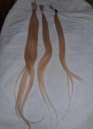 Волосы блонд для наращивания