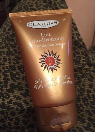 Clarins auto-bronzant ,laities