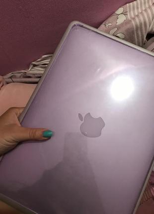 Чехол на макбук macbook air13 a1932 purple