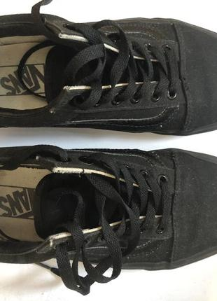 Кеды vans old skool black/black оригинал