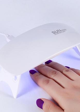 Led+ uv лампа для ногтей
