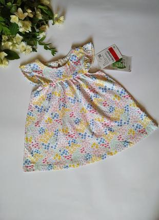 Летнее платье для девочки baby club