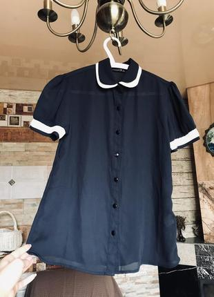 Легкая блуза-футболка