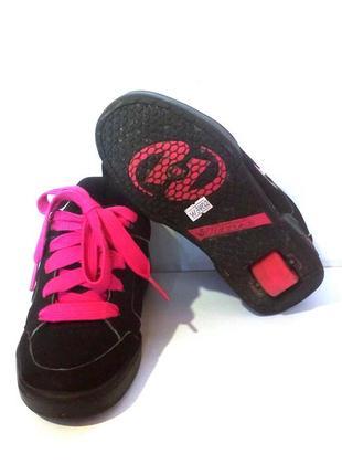 Роликовые кроссовки на колёсиках / ролики heelys, сша, р.34 код w3402