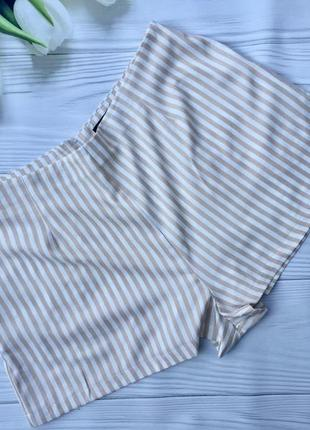 Стильные легкие шорты в полоску boohoo
