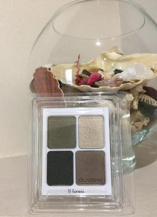 Тени для век clarins ombre mineral palette wet&dry #11 forest