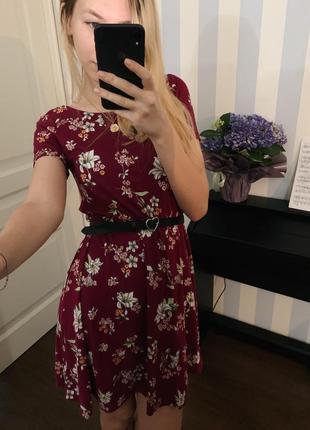 🦋 летнее платье stradivarius