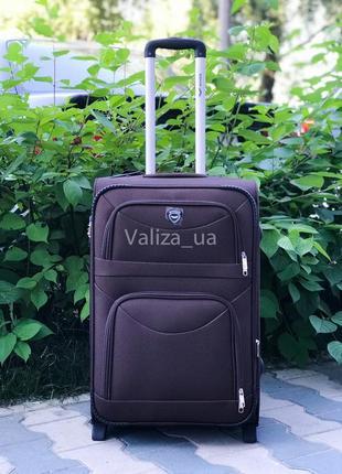 Распродажа! средний текстильный чемодан тканевый чемодан польша / валіза середня