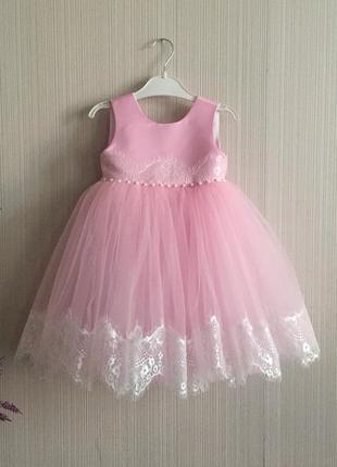 Платье на годик,пышное платье