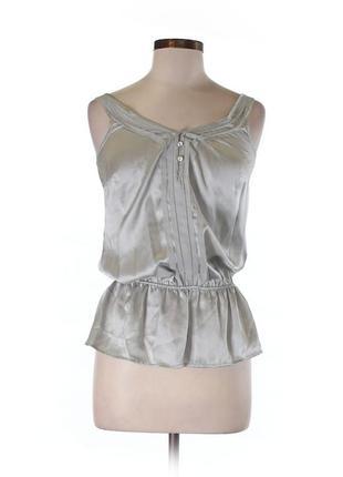 Шикарный шелковый топ в бельевом стиле/майка / блуза white house black market новый