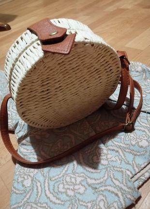 Соломенная сумка племенная
