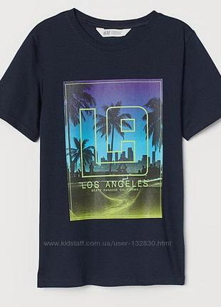 Стильная футболка h&m для подростка