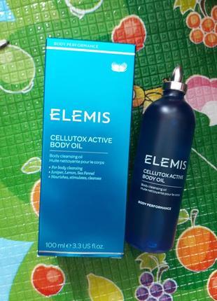 Антицелюлітне масажне масло для тіла elemis