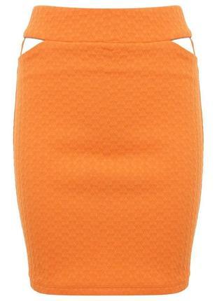 Яркая красивая юбка от miss selfridgе рр 10 наш 44