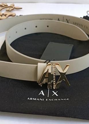 Ремень пояс от от аrmani exchange. оригинал. новый. распродажная цена