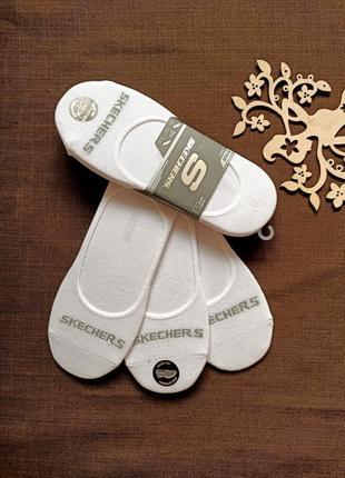 Носки следы от skechers 39-43 размера. три пары в наборе. оригинал. супер качество.
