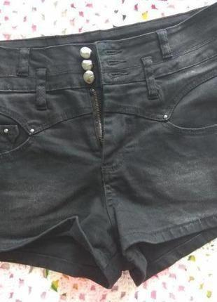 Женские джинсовые шорты # шорты с завышенной талией # new look