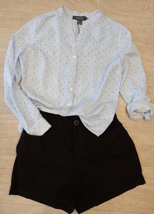 Модная базовая рубашка вискоза primark, размер s.