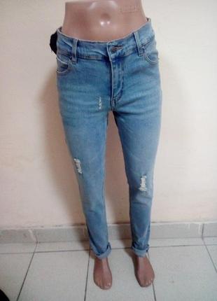 Женские джинсы 28 р,идут на 29-30.