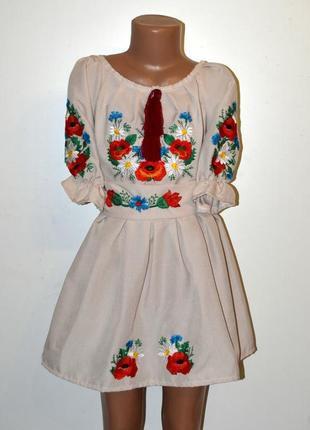 Вишиванка, вышиванка, сукня з вишивкою, вишита сукня для дівчинки 3-4 роки