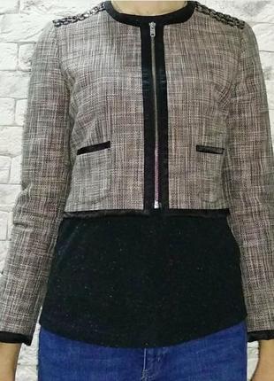 Укороченный пиджак h&m