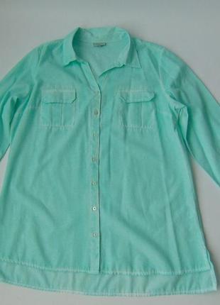 Нежная рубашка от bexleys 44 р.