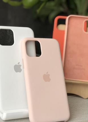 Силиконовый чехол для iphone apple silicone case