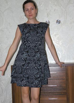 Платье свободный а-образный покрой