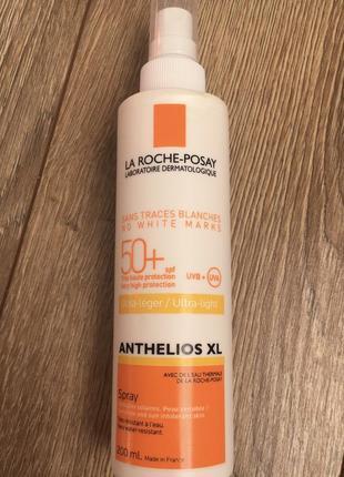 Солнцезащитный спрей для лица и тела la roche-posay anthelios xl ultra-light spf 50