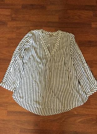 Модная натуральная блуза