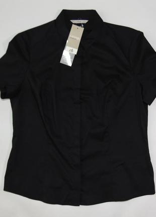 Черная строгая рубашка george 12 р